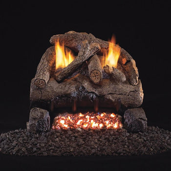 Real Fyre Evening Fyre Vent-Free Gas Log Set