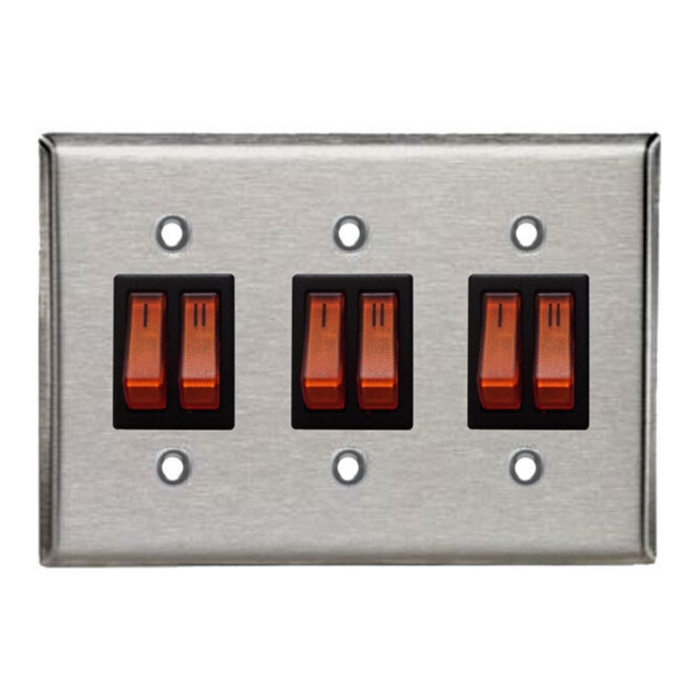 Schwank Two Stage Triple Control Switches for Two Stage Gas Heaters