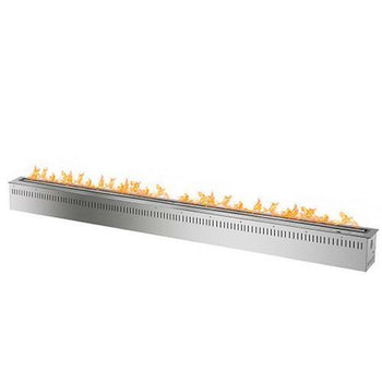 Electronic Ethanol Burner - The Bio Flame 72″ Smart Ethanol Burner - Remote And Wi-Fi Control