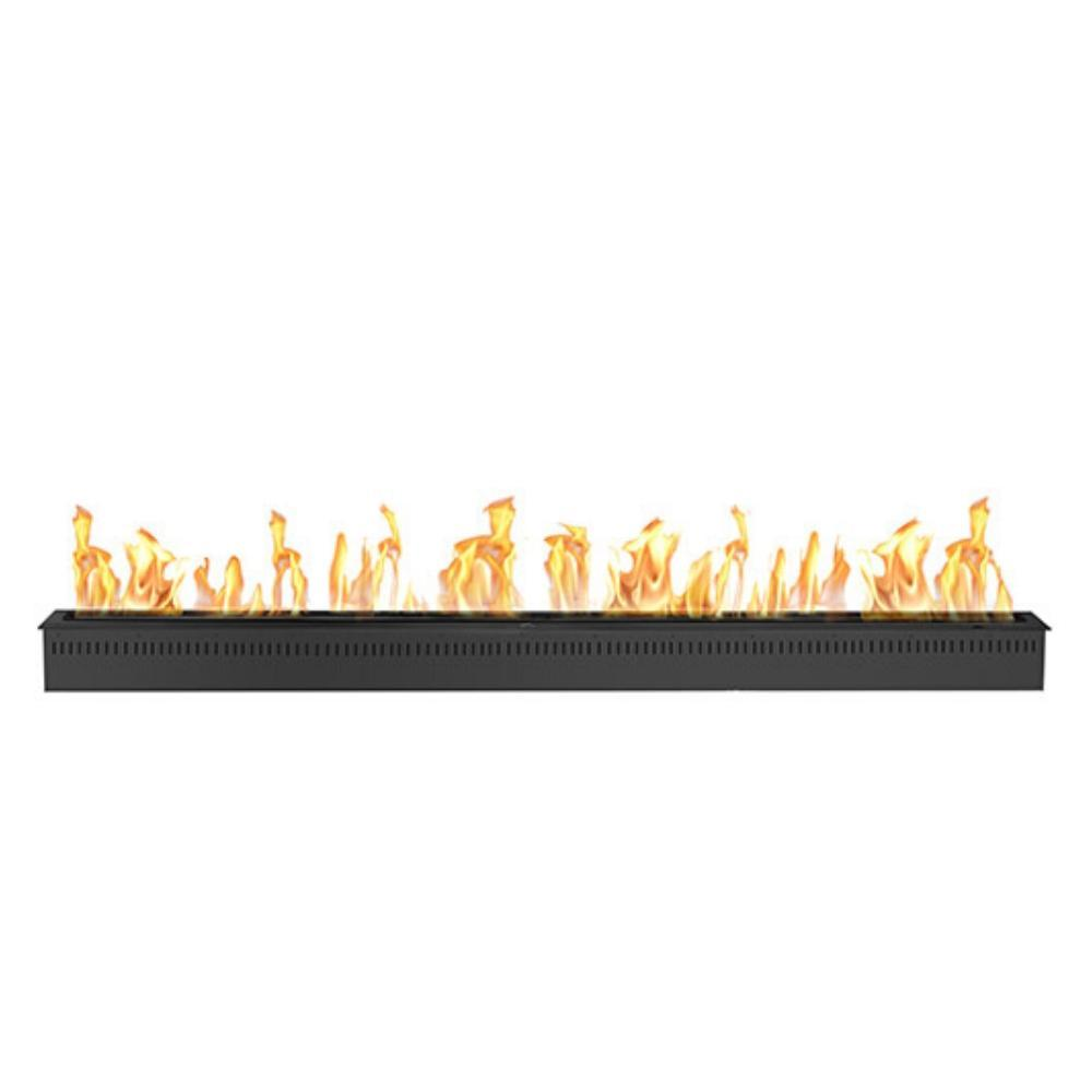 "The Bio Flame 84"" Smart Remote Controlled Ethanol Burner in Black"