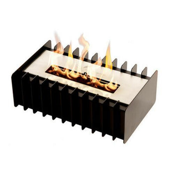 Ethanol Grate - The Bio Flame Fireplace Insert Kit - 13″ UL Listed Ethanol Burner With Grate, Indoor/Outdoor