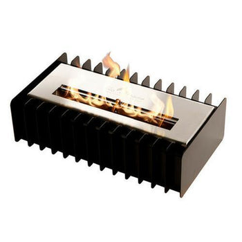 Ethanol Grate - The Bio Flame Fireplace Insert Kit - 16″ UL Listed Ethanol Burner With Grate, Indoor/Outdoor