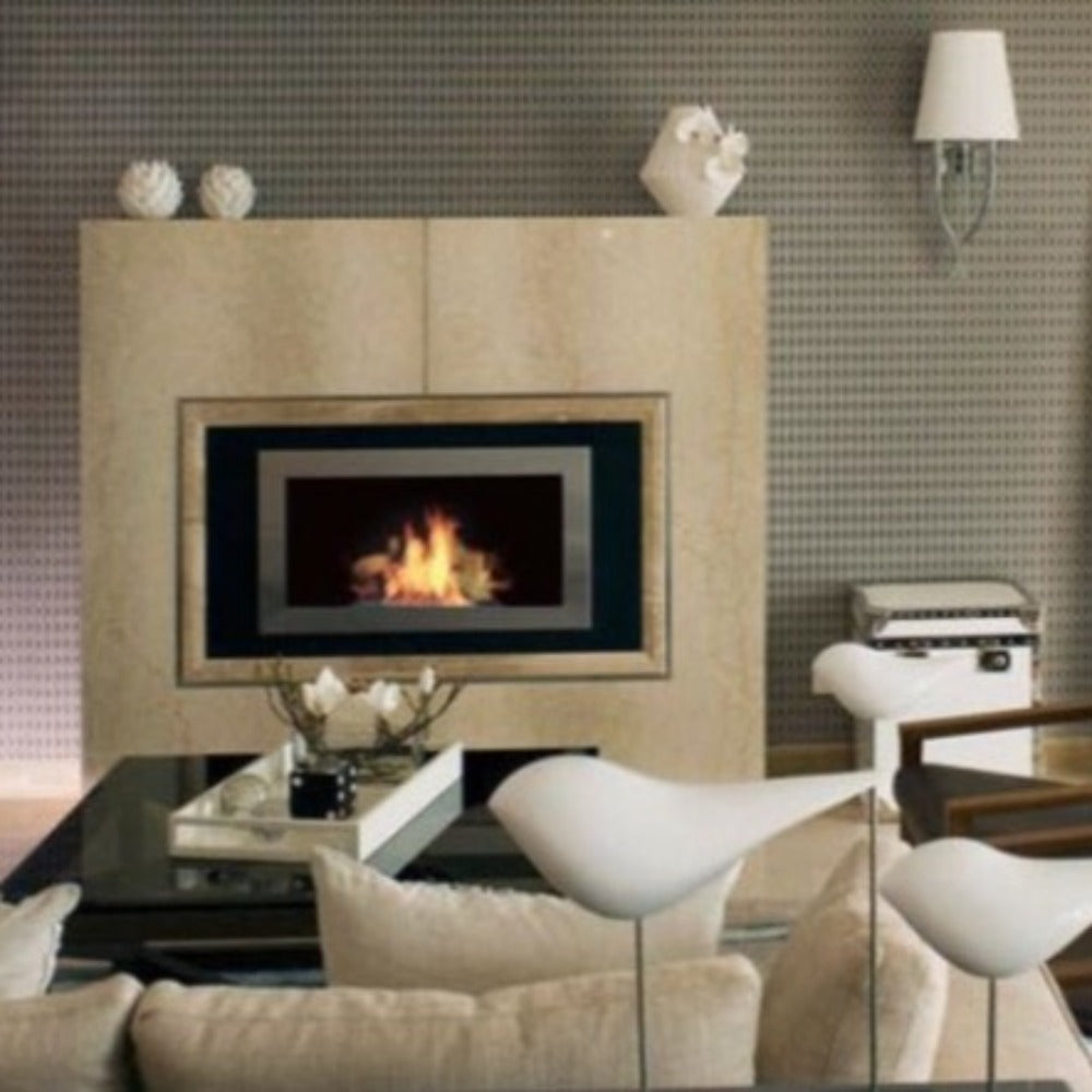 Ethanol Fireplace - The Bio Flame Lorenzo - Built-in / Wall Mounted Ethanol Fireplace