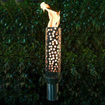 "Top Fires 14"" Honeycomb Stainless Steel Gas Torch"