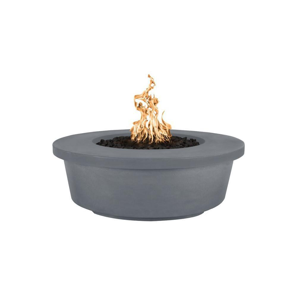 Top Fires Tempe GFRC Fire Pit in Gray