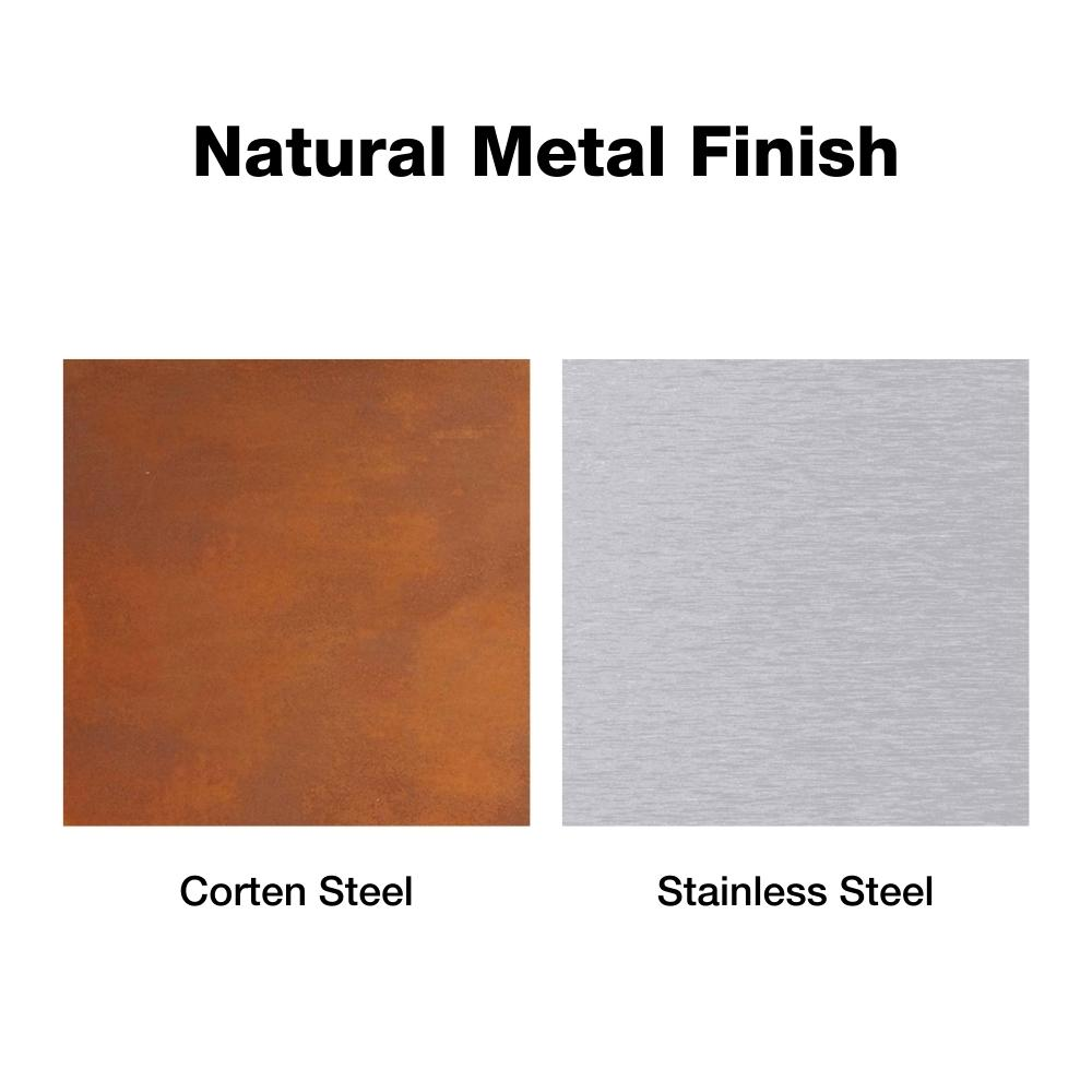 Natural Metal Finish