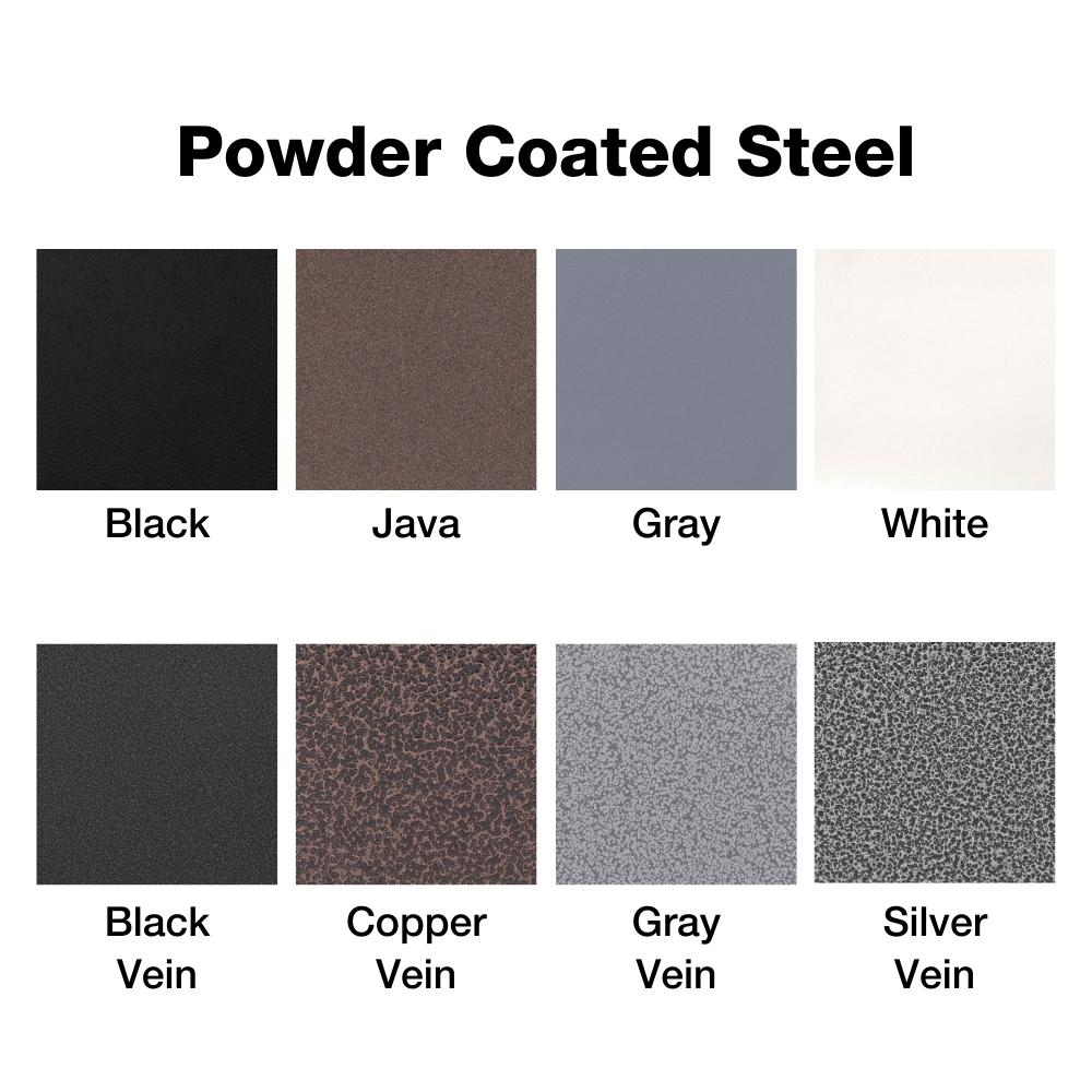 Powder Coated Steel Finish Options