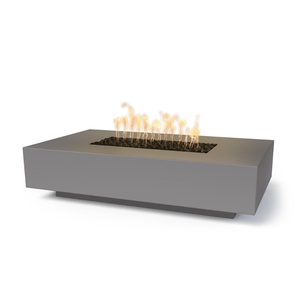 "Top Fires Cabo 56"" Linear GFRC Gas Fire Pit Table"