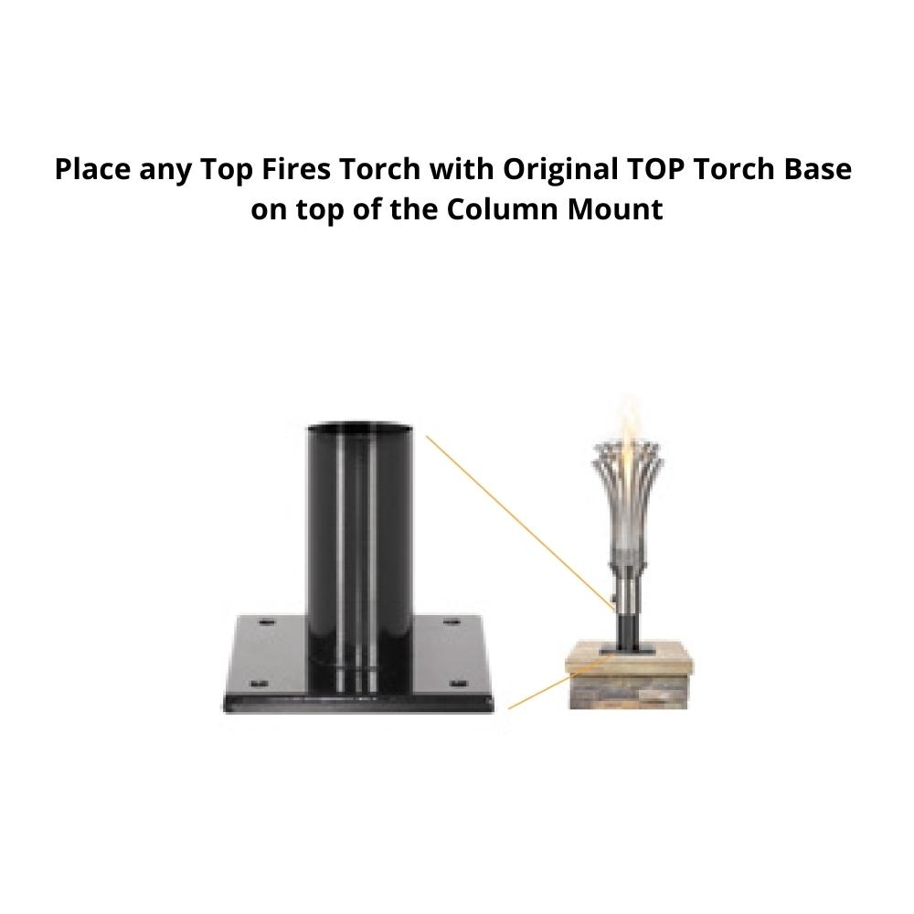Top Fires Column Mount for TOP Torches