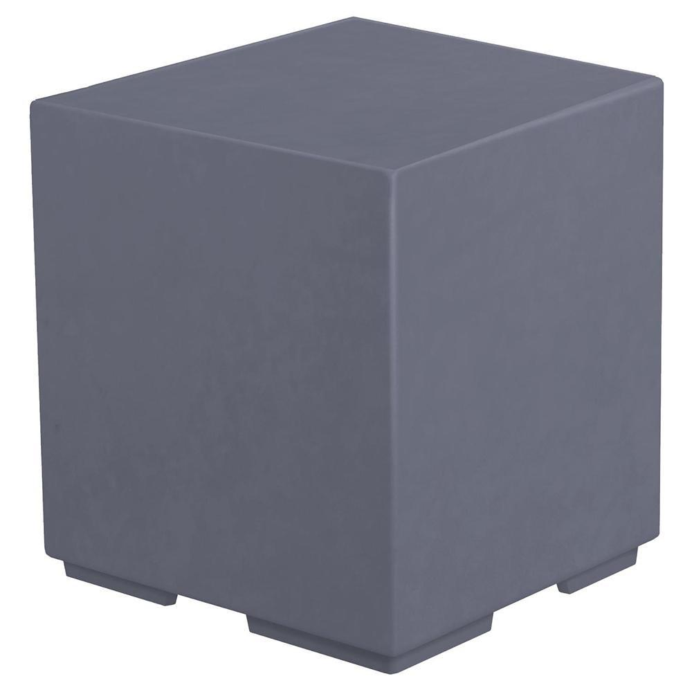 Top Fires GFRC Pillar for Fire Bowls in Gray