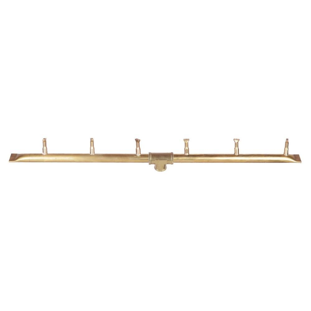 "Top Fires Linear Bullet Gas Burner, Sizes: 18"" - 96"" Long"