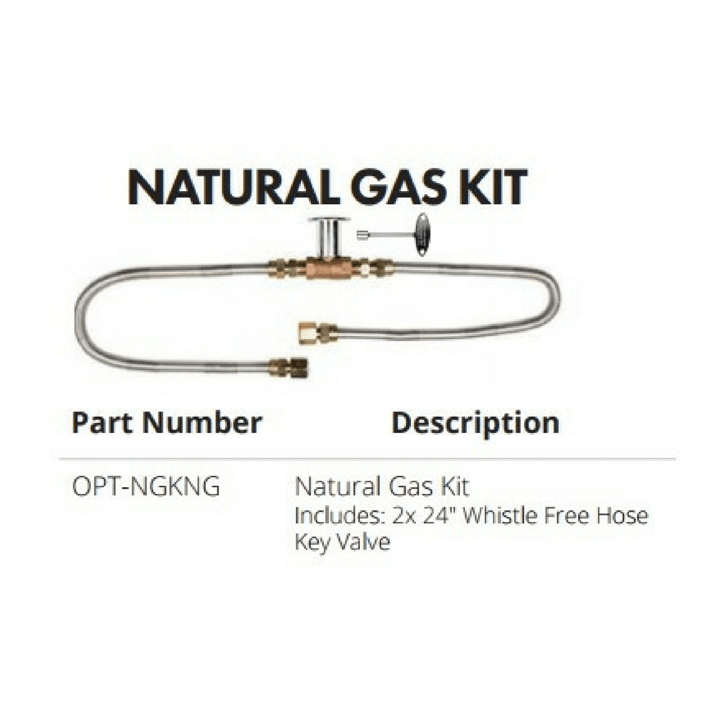 Top Fires Natural Gas Kit (OPT-NGKNG)