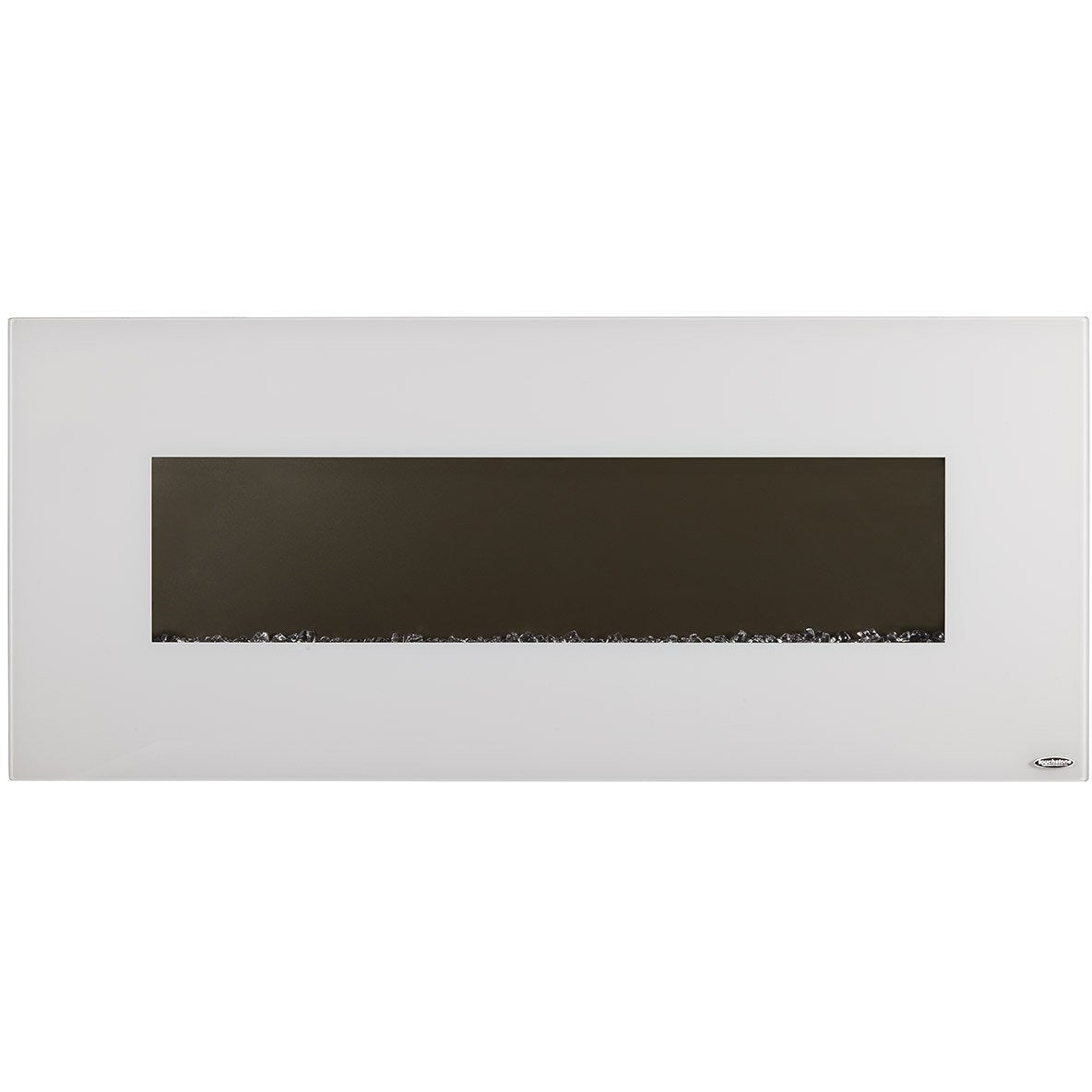 Touchstone Ivory White Wall Mounted Electric Fireplace