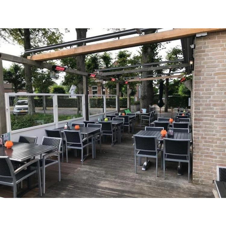 "Victory HLWA20BG 19"" Wall-Mounted in Outdoor Dining Area"