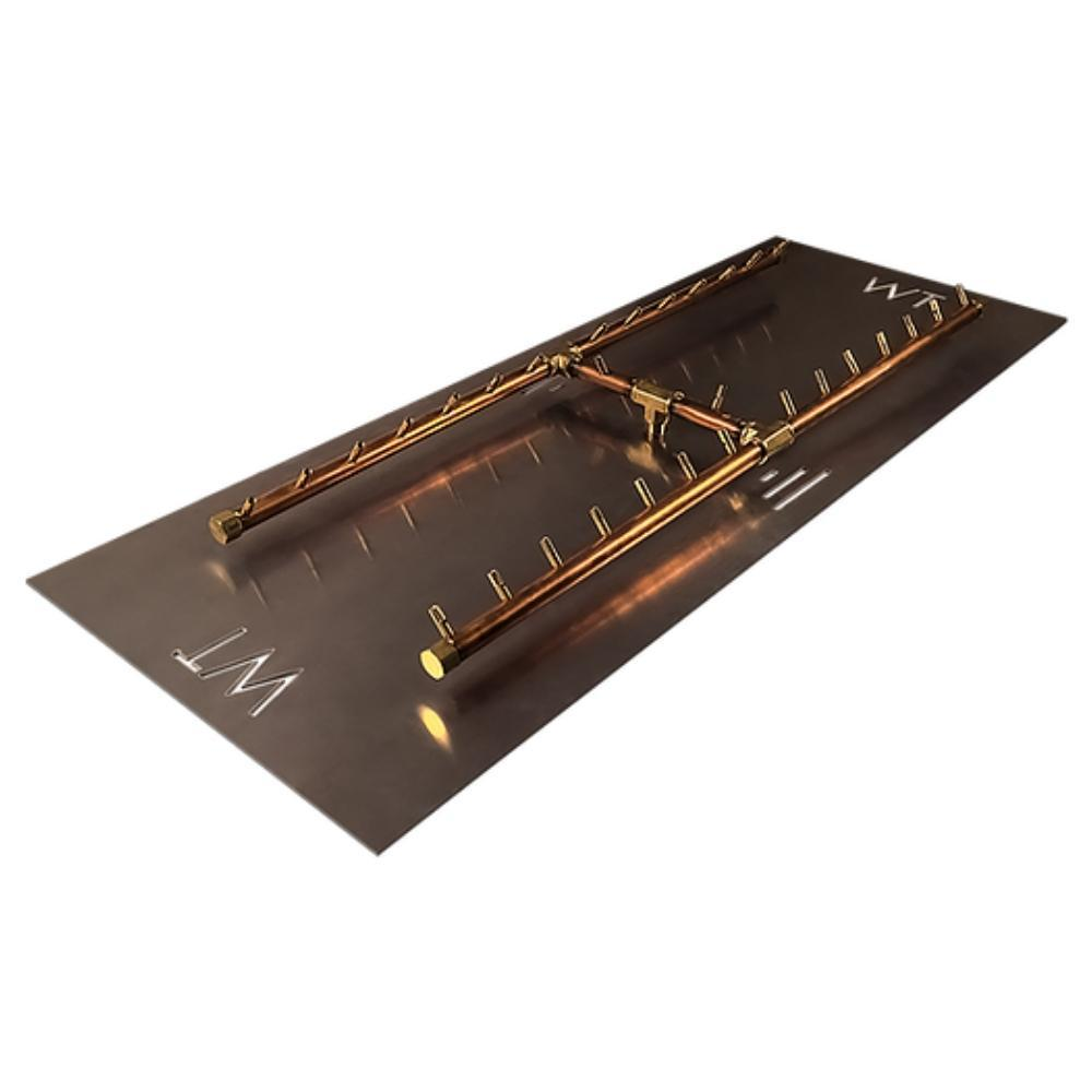 "Warming Trends CFBH300 H-Style CROSSFIRE™ 42"" Brass Gas Burner"