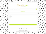 Sparkle Lime Mobile Responsive Shopify Theme