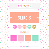 Happy June Four Mobile Responsive Shopify Theme