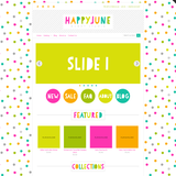 Happy June One Mobile Responsive Shopify Theme