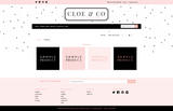 Cloe & Co One Mobile Responsive Shopify Theme