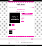Cake + Grace One Mobile Responsive Shopify Theme
