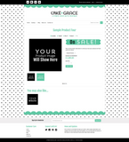 Cake + Grace Three Mobile Responsive Shopify Theme