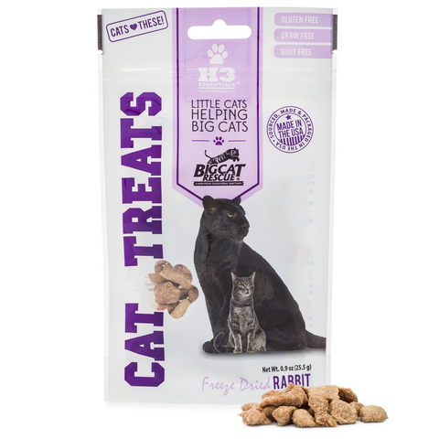 Freeze Dried Cat Treats - Rabbit Bites
