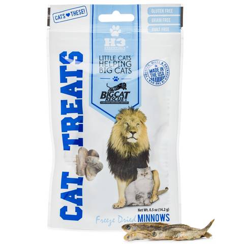 Freeze Dried Cat Treats - Whole Minnows