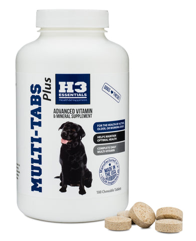 Multivitamin Tabs for Dogs - 180 Count