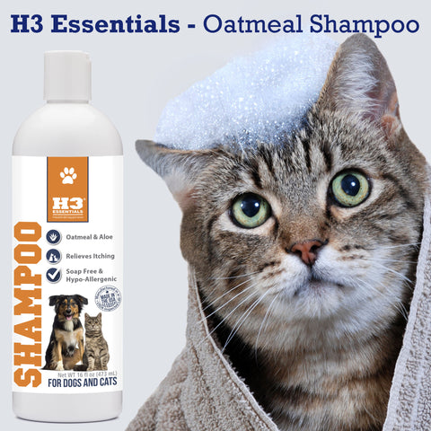 Oatmeal Shampoo for Cats & Dogs