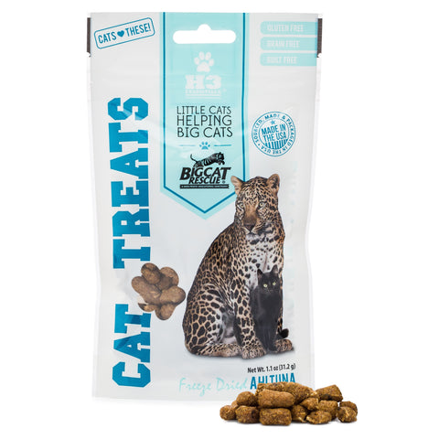Freeze Dried Cat Treats - Ahi Tuna