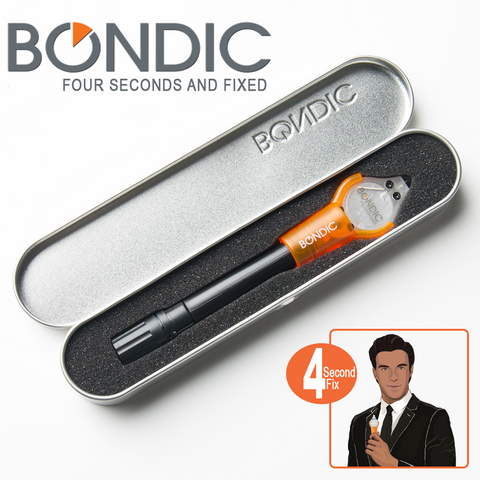 Bondic® The World's First Liquid Plastic Welder! Bond, Build, Fix and Fill Almost Anything in Seconds! Your Hard Fix For Sticky Situations. FREE SHIPPING