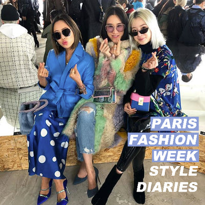 PARIS FASHION WEEK ROUND-UP