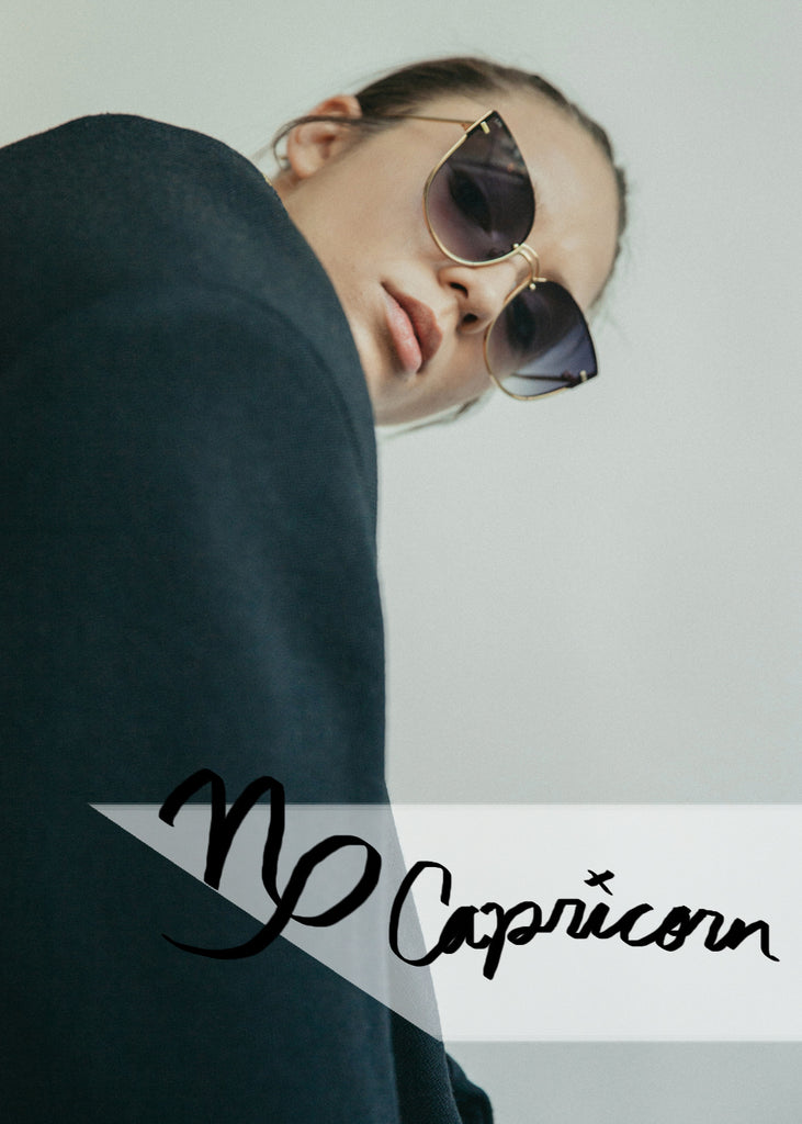 FOR ART'S SAKE DESIGNER EYEWEAR DAYDREAM BLACK SUNGLASSES ZODIAC