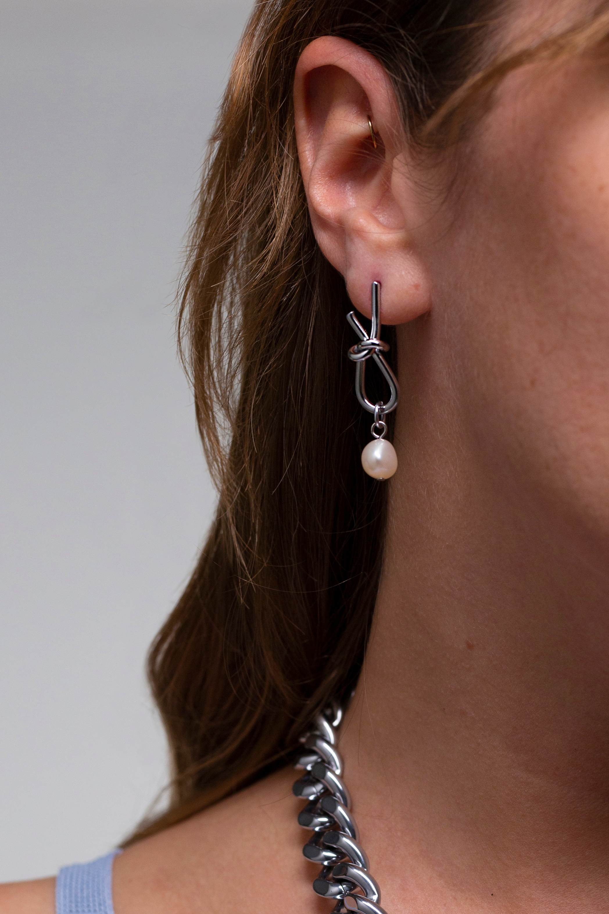 Casper Earrings Silver