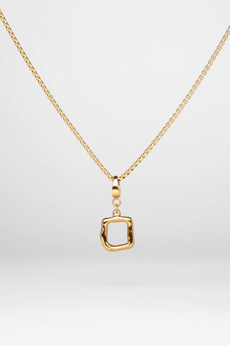 Frieze Necklace Gold