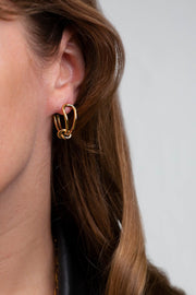 Lisa Earrings Gold