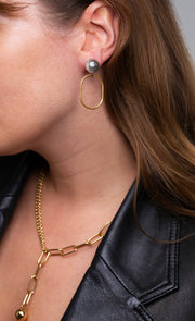 Sandro Earrings Gold