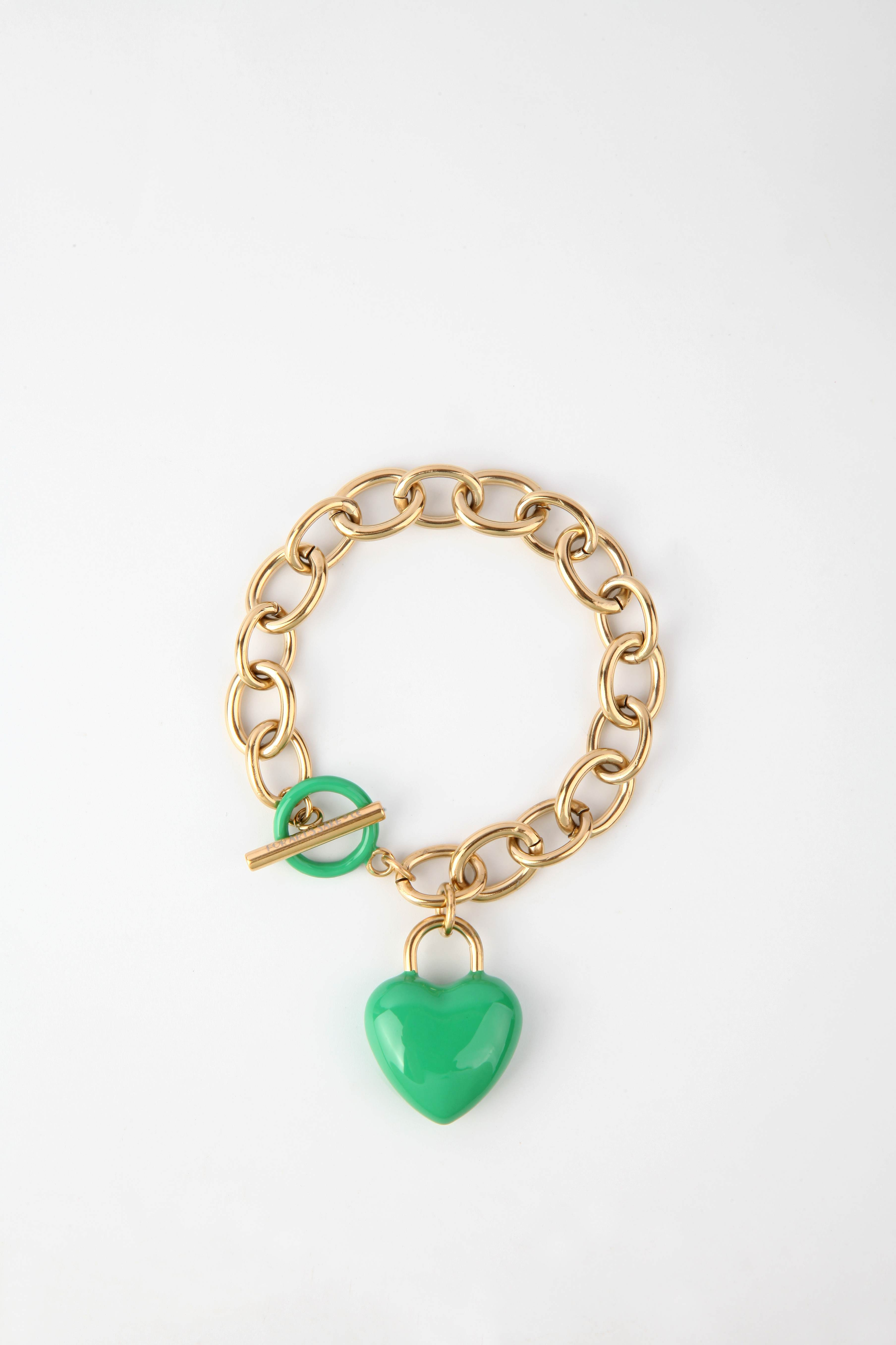 The Kiss Bracelet Green