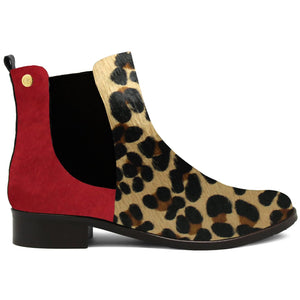 * NEW ChaniiB - TAILLE (Leopard/Red)