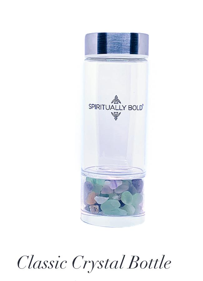 Classic Crystal water bottle