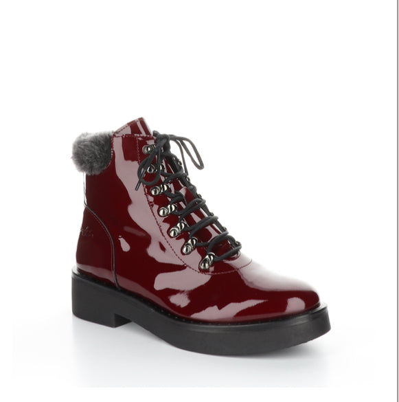 Bos&Co - Flair Bordeaux Patent Waterproof