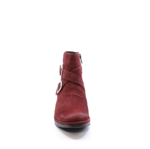Fly London Perz in red available at Shoe Muse