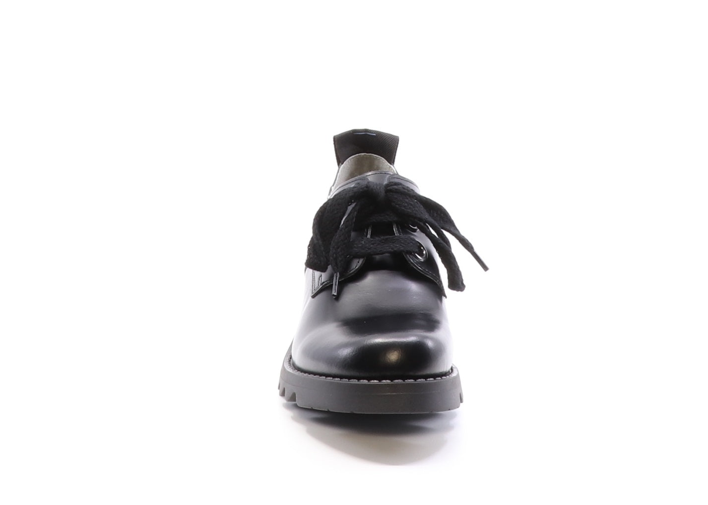 Fly London Ruda in black shoe available at Shoe Muse