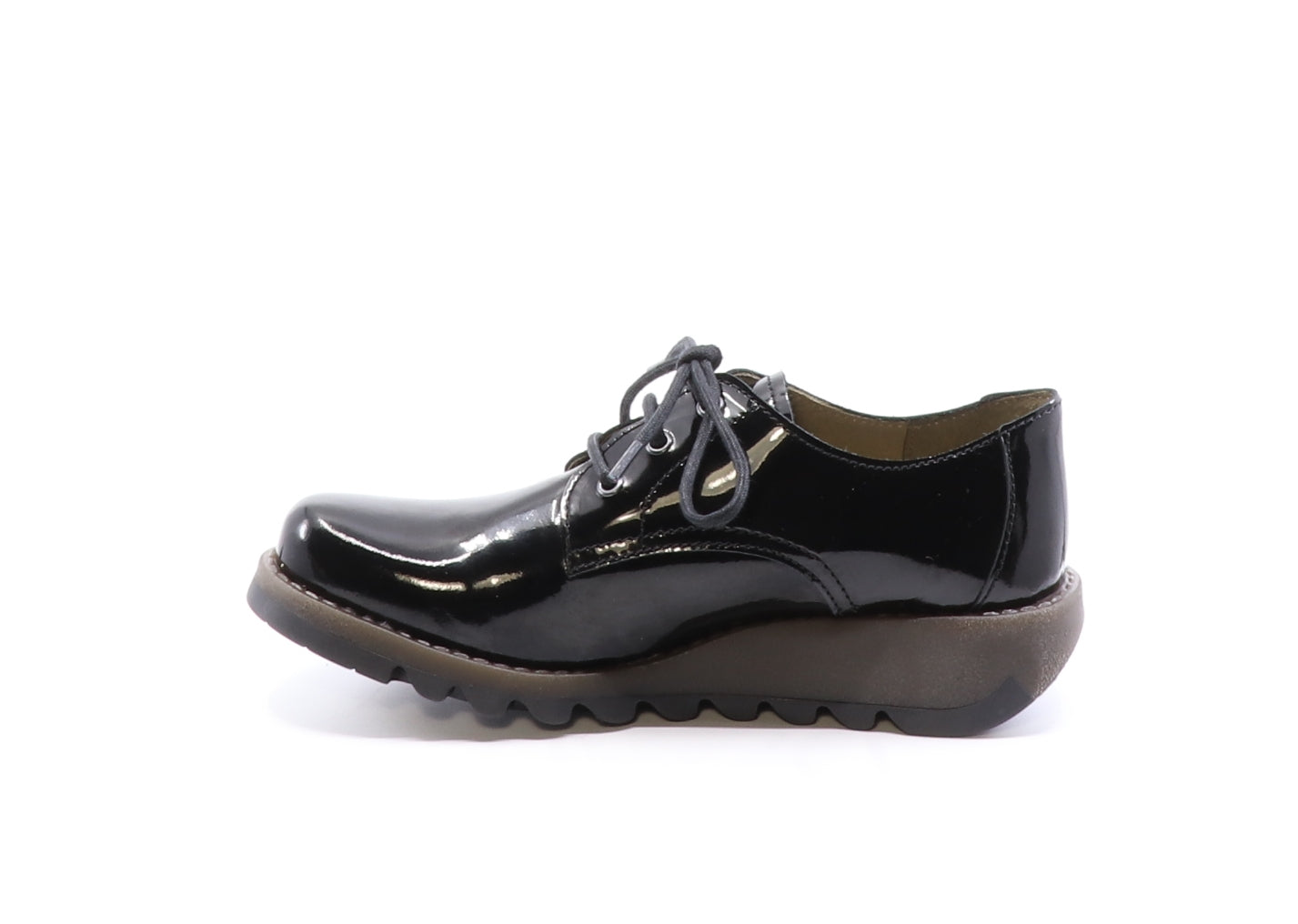 Fly London Simb in black atlantis available at Shoe Muse
