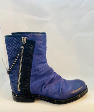AS98 Purple Moto boot