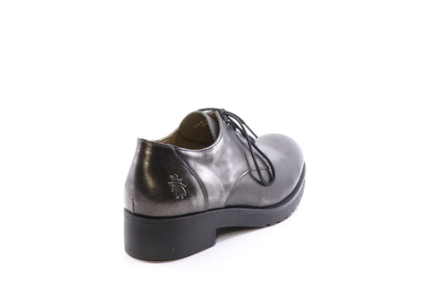 Fly London Beno in smoke colour available at Shoe Muse