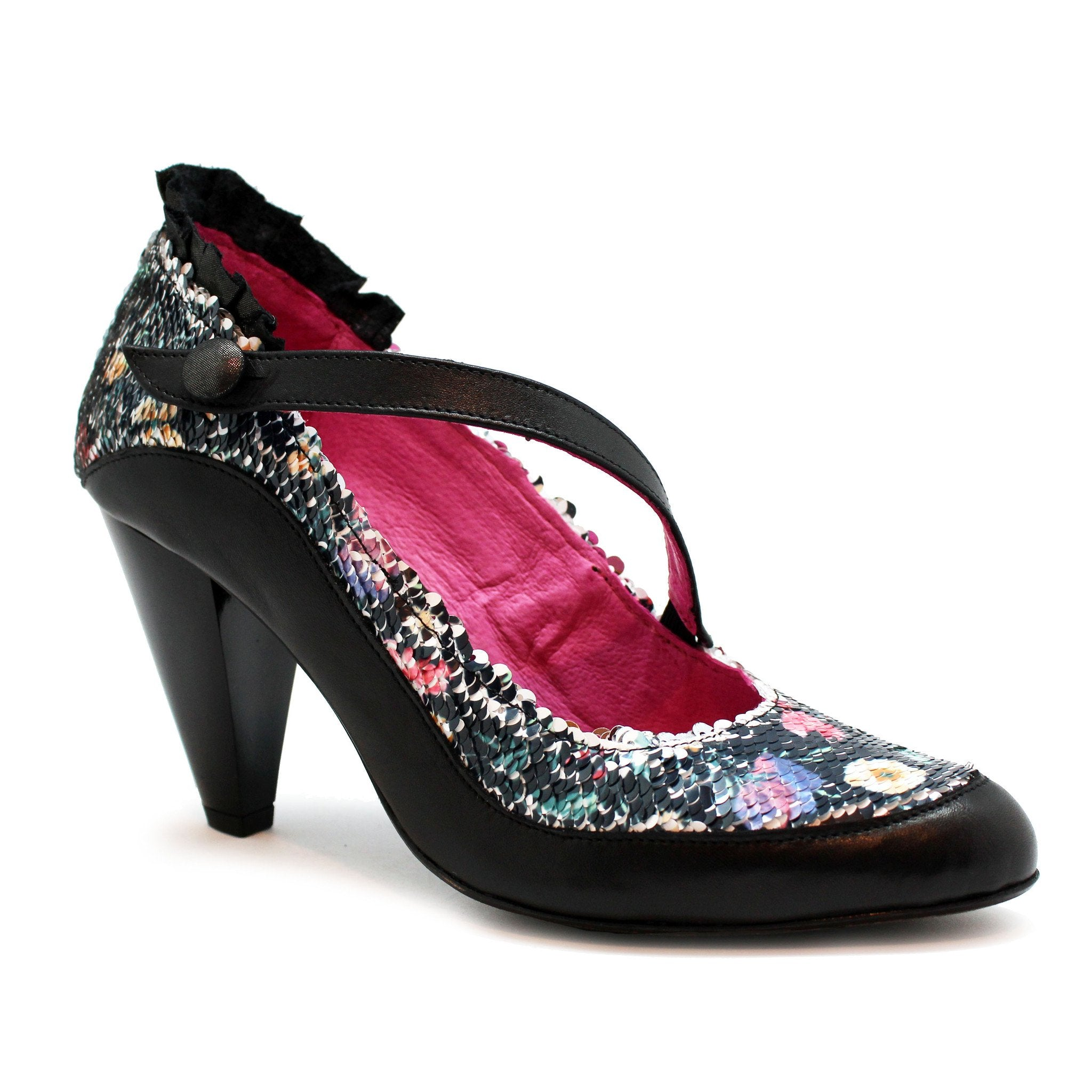 Delicieux - Black/Multi Sequin