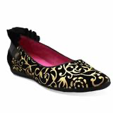 CHANII.B Tuille Black Gold Scroll