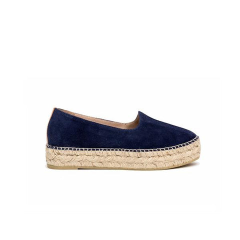 ATELIERS Molly Navy Suede