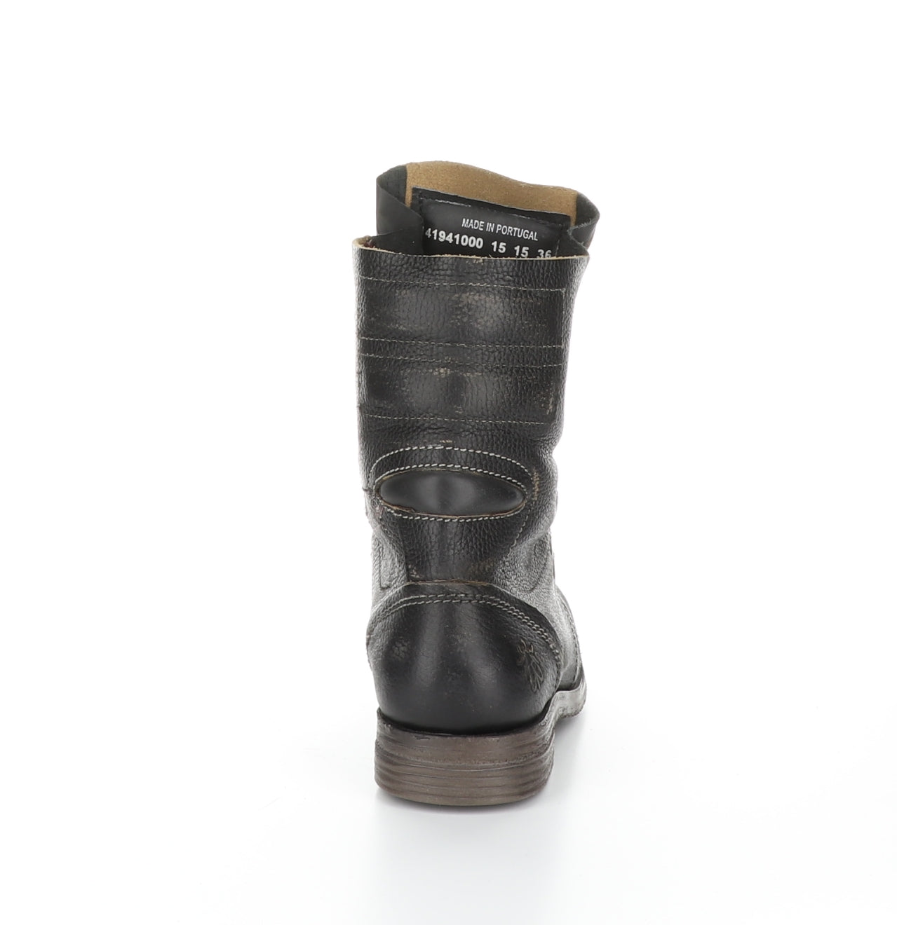Fly London Stiff in black boot available at Shoe Muse